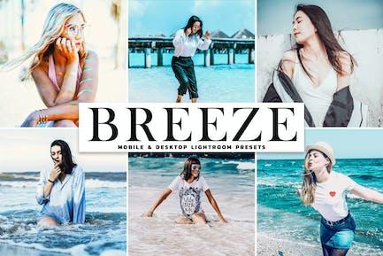 Breeze Mobile & Desktop Lightroom Presets