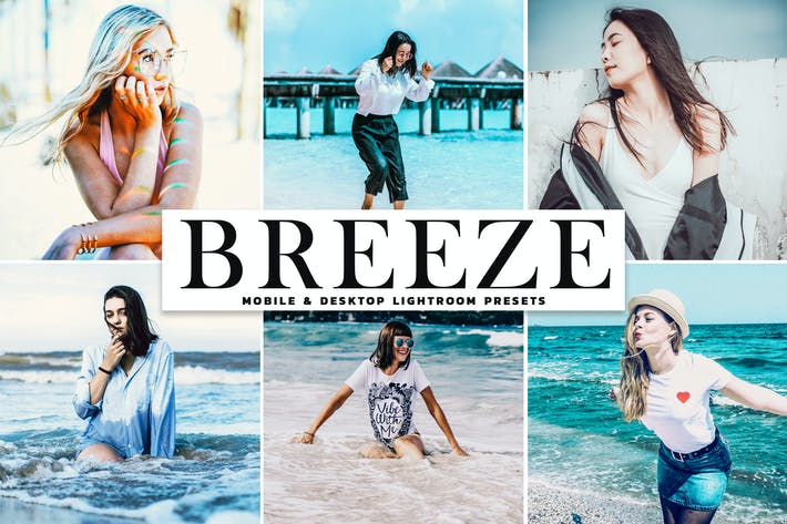 Thumbnail for Breeze Mobile & Desktop Lightroom Presets