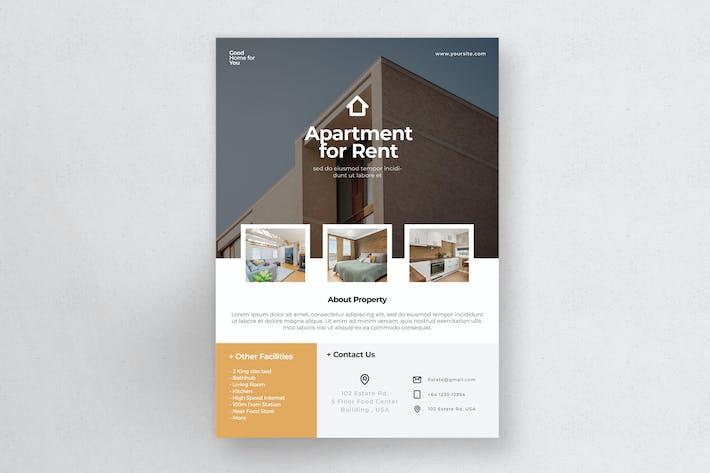 Thumbnail for Real Estate Flyer Vol.1