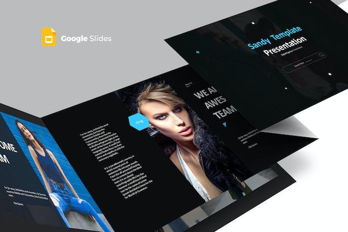 Thumbnail for Sandy - Google Slides Template
