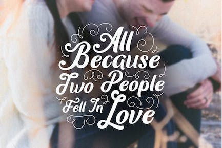 All Because two people fell in love