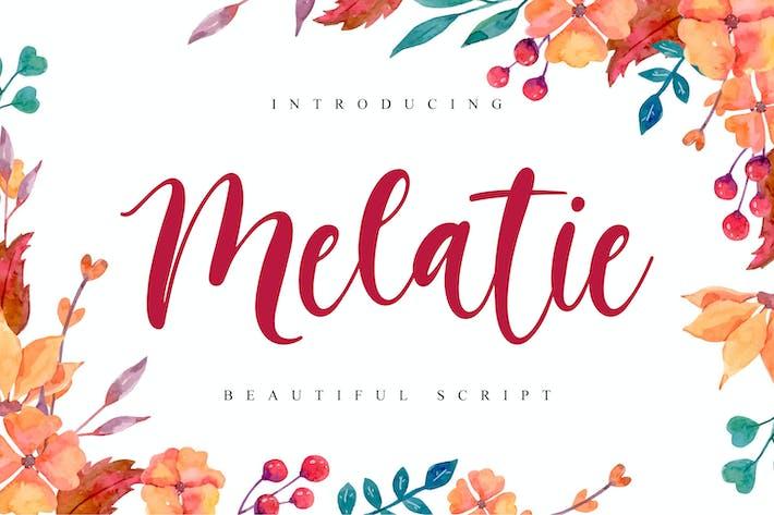 Thumbnail for Melatie - Beautiful Script