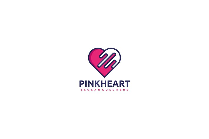 Thumbnail for Pink Heart Logo