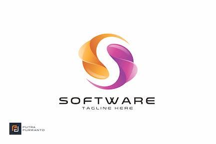 Программное обеспечение - Шаблон логотипа