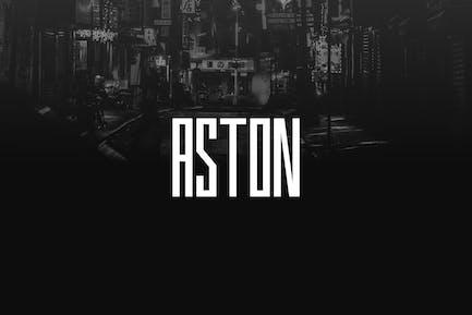 ASTON - Urban Display / Headline / Logo Typeface