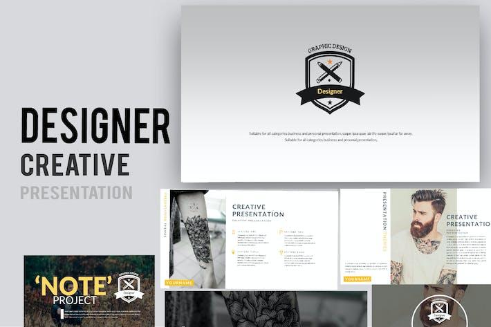 Thumbnail for Designer Creative Google Slides