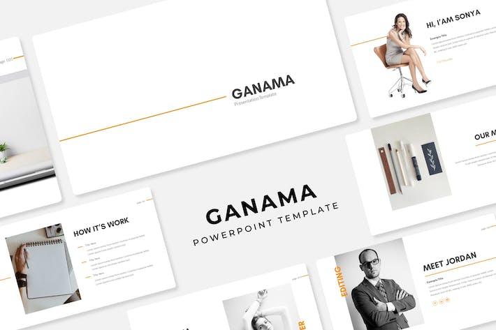 Thumbnail for Ganama - Plantilla PowerPoint