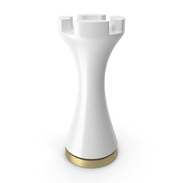 Chess Figure White Rook
