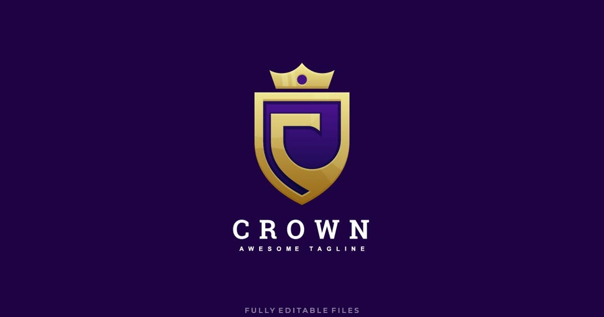 Download Abstract Letter C and Crown Luxury Logo by ivan_artnivora