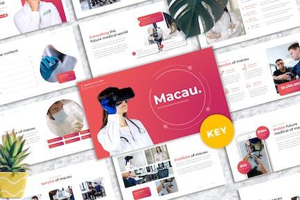 Macau - Medic Keynote Template
