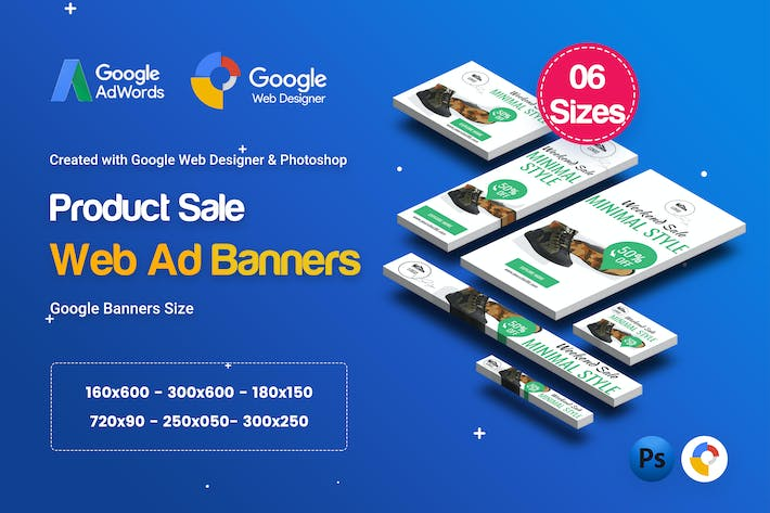 Thumbnail for C16 - Product Sale Banners HTML5 Ad