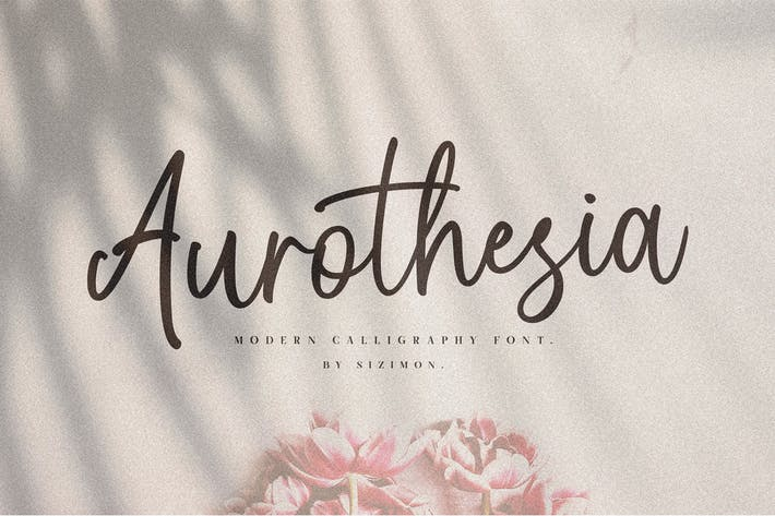 Thumbnail for Aurotheisa Font Duo!