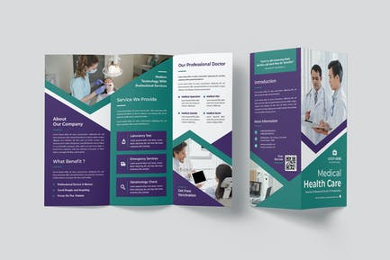 Medical Health Care Trifold