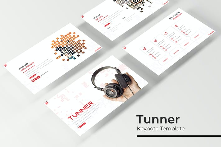 Thumbnail for Tunner - Keynote Template