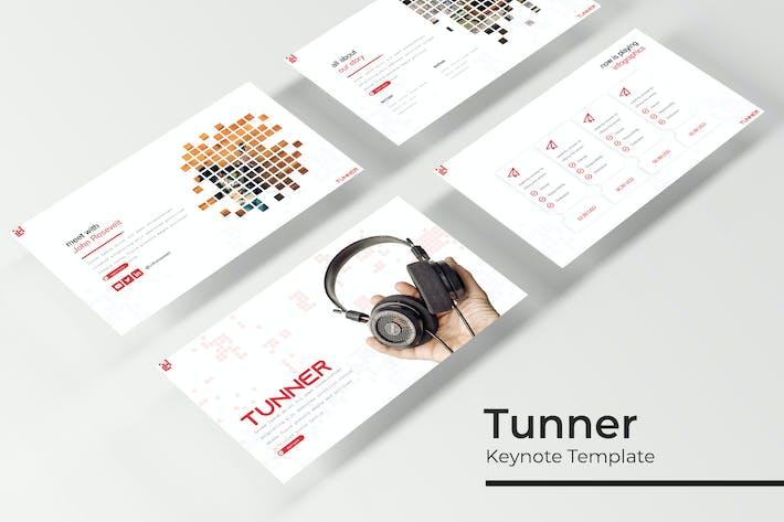 Thumbnail for Tunner - Keynote Vorlage