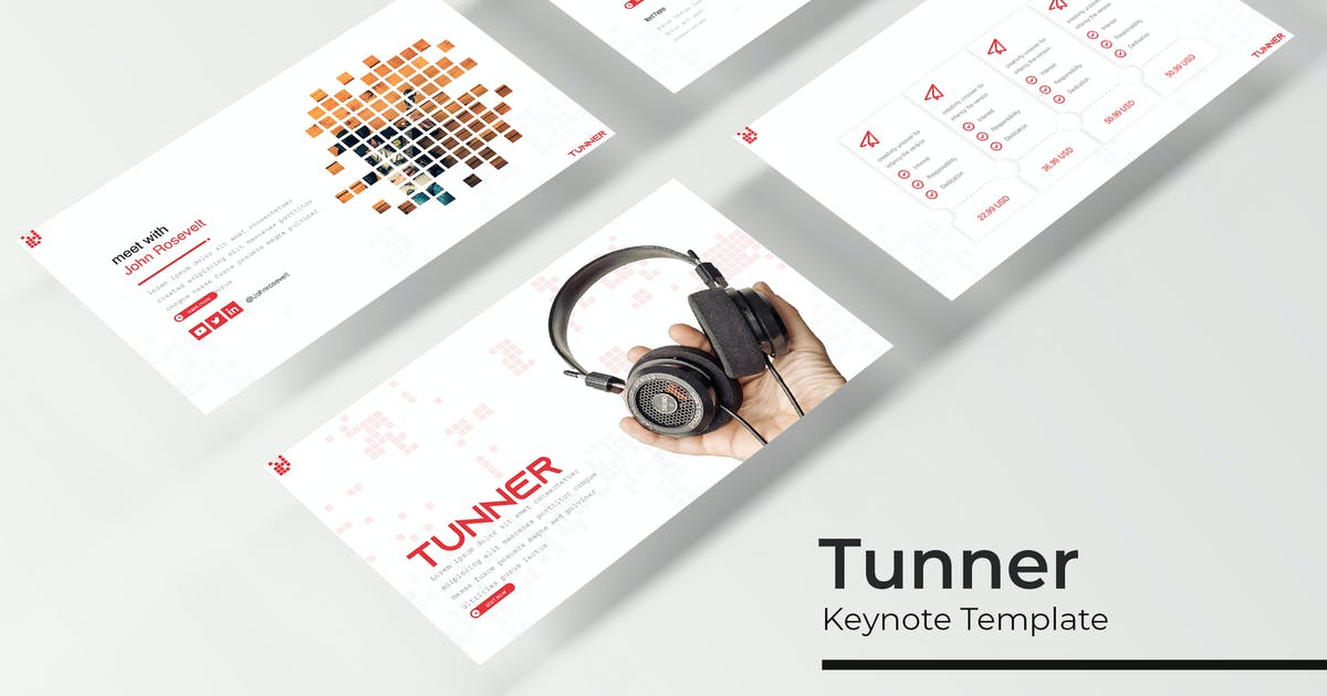 Download Tunner - Keynote Template by IanMikraz