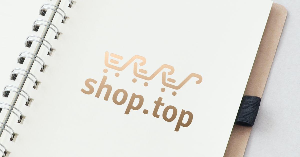 Download Shop Top Logo Template by ldnstudio