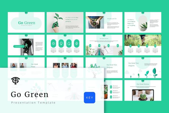 Thumbnail for Go Green - Keynote