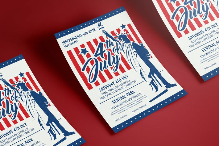 Thumbnail for 4th Of July Flyer / Poster