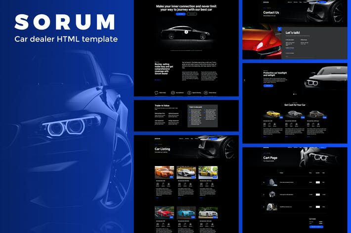 Thumbnail for Sorum - Car Dealer HTML Template