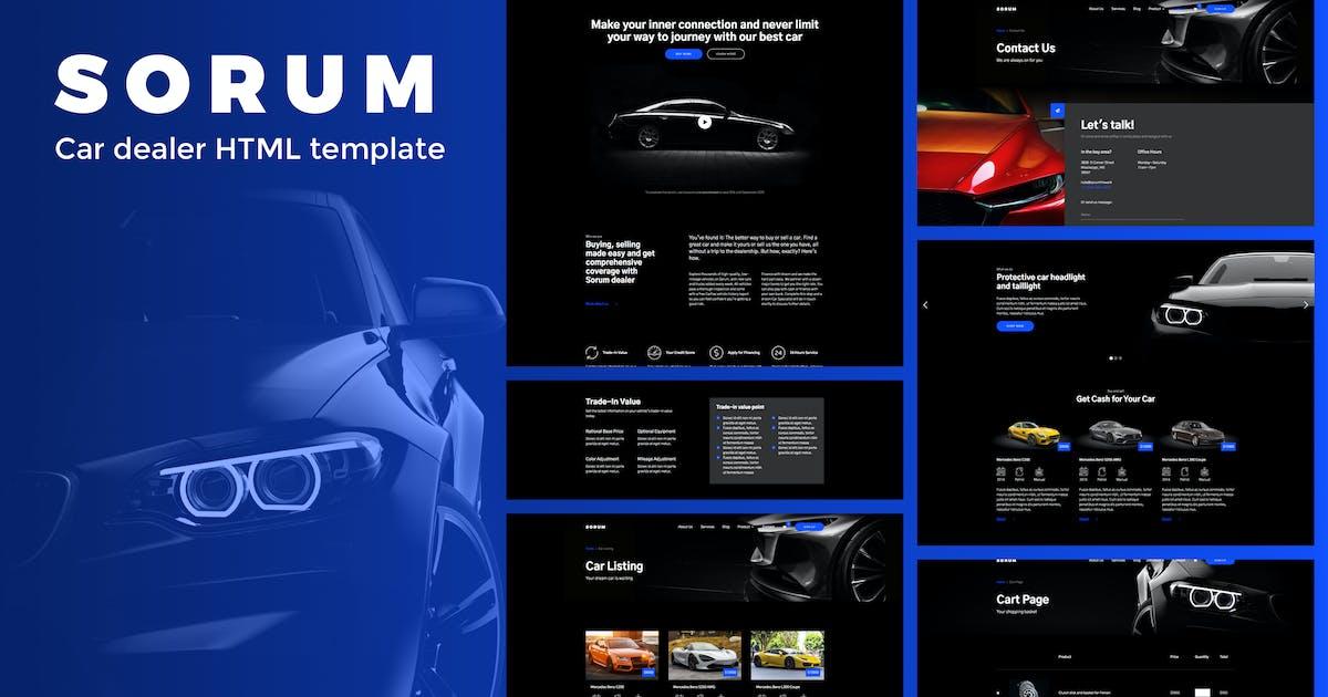 Download Sorum - Car Dealer HTML Template by deTheme