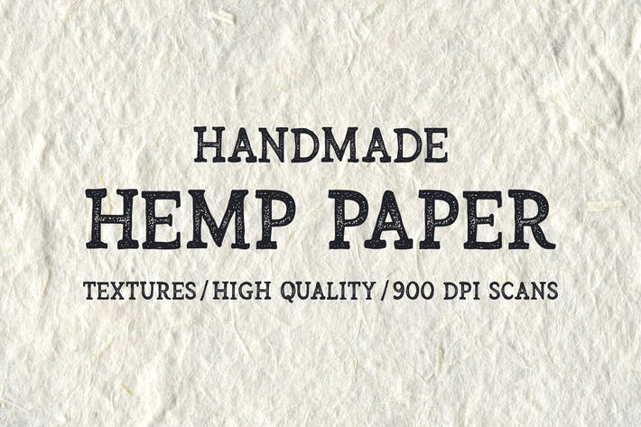 Thumbnail for Handmade Hemp Paper Textures