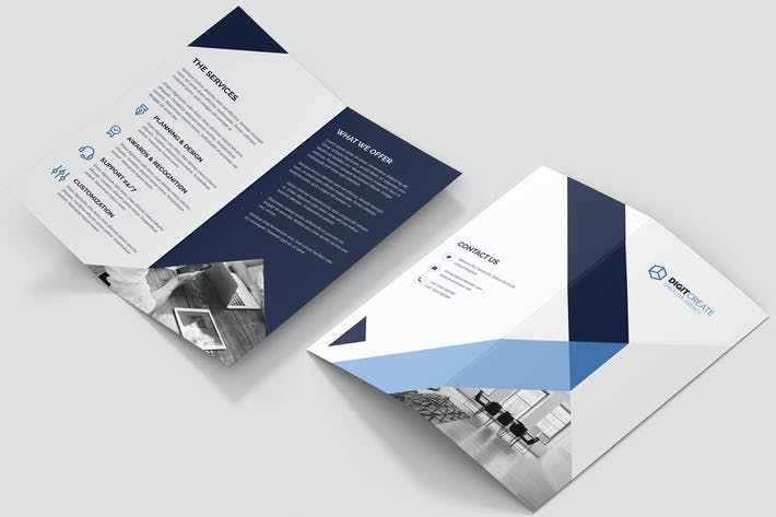 Thumbnail for Brochure – Digital Agency Bi-Fold DL