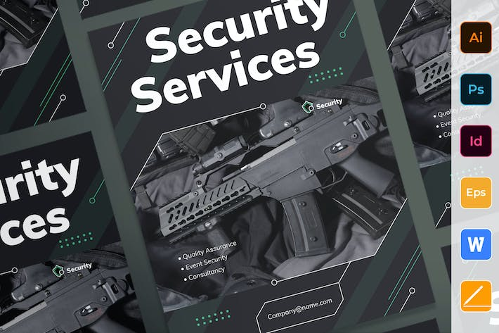 Thumbnail for Security Services Poster