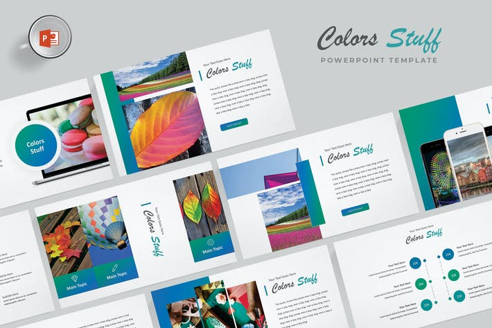 Thumbnail for Colors - Powerpoint Template