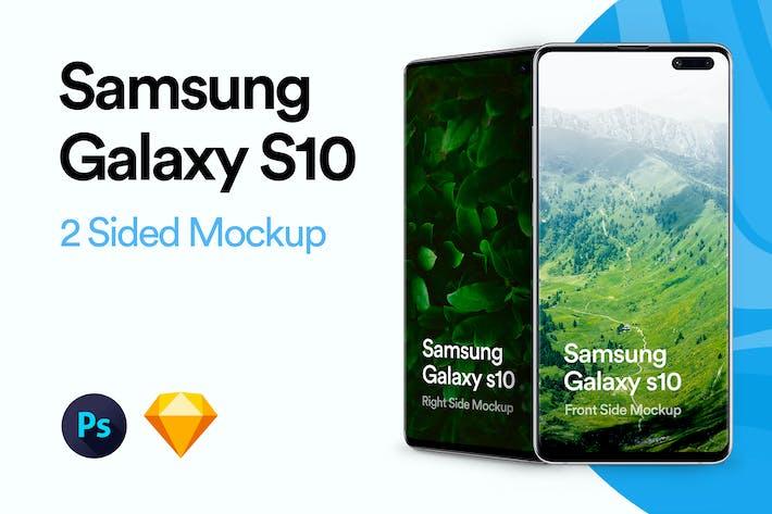 Thumbnail for Samsung Galaxy S10 Mockup