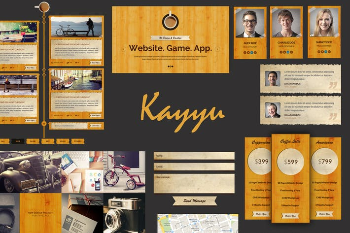 Thumbnail for Kayyu - PSD Template