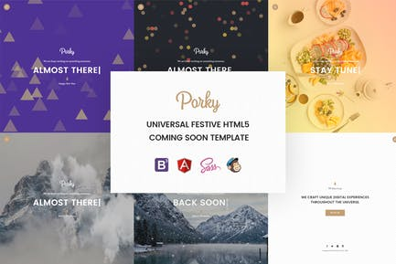 Porky – Responsive HTML5 Coming Soon Template