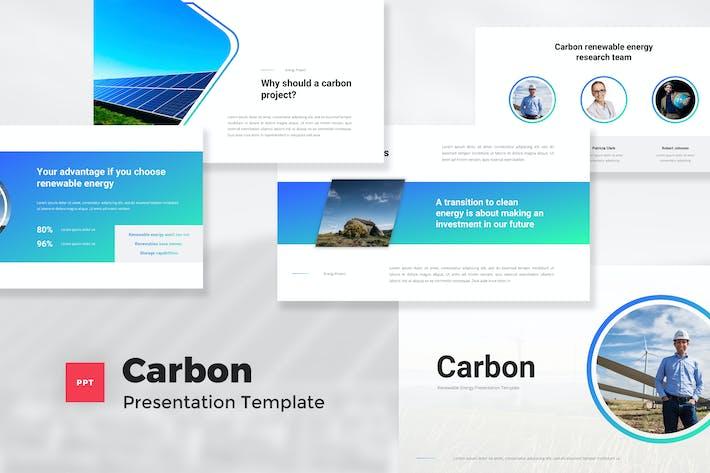 Thumbnail for Творческая возобновляемая энергия PowerPoint шаблон