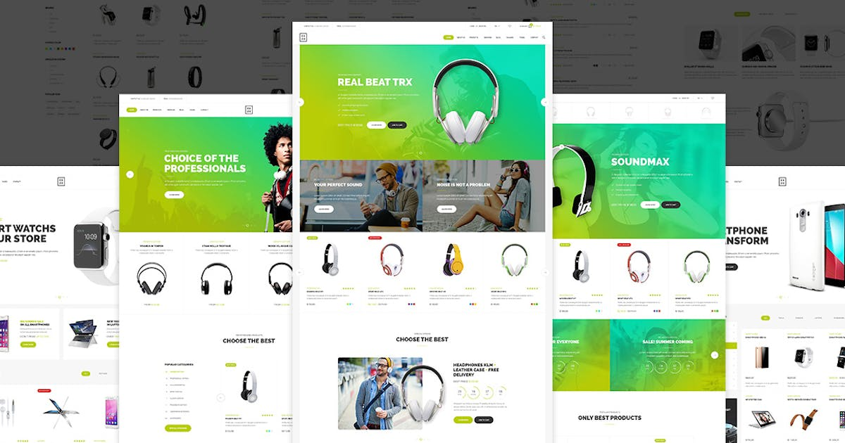 Download Exzo - Shop PSD Template by Unknow