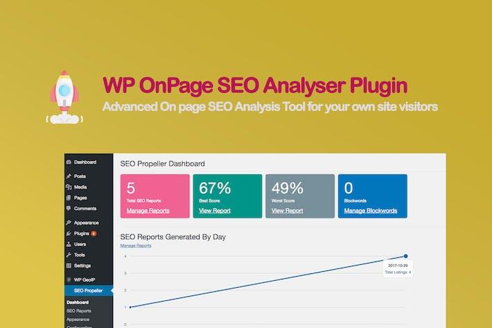WP onPage SEO AnalyserPlugin