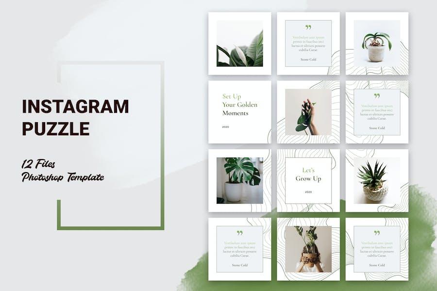 Instagram Puzzle Botanical