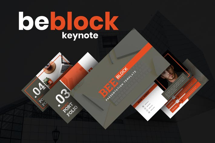 Beblock - Business Keynote Presentation