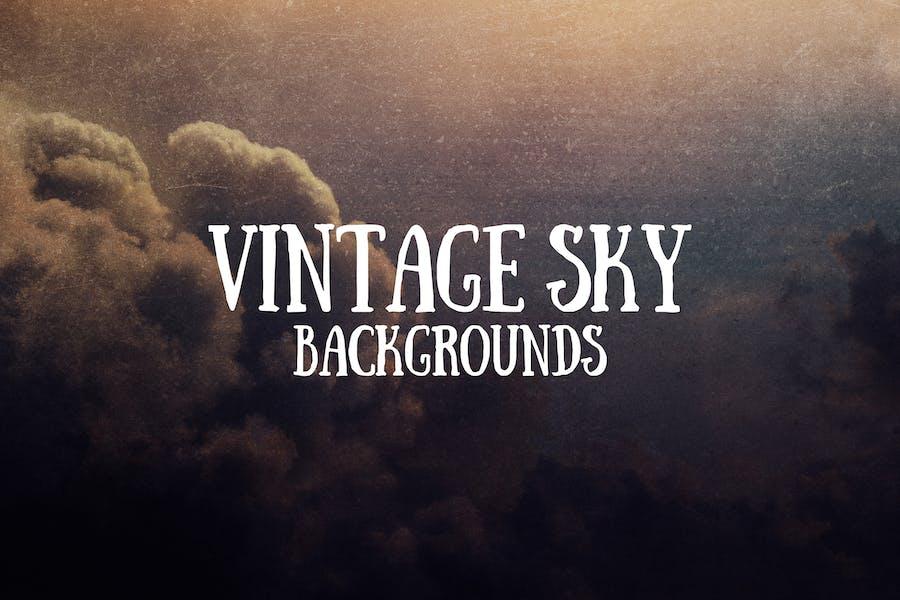 Vintage Sky Hintergründe