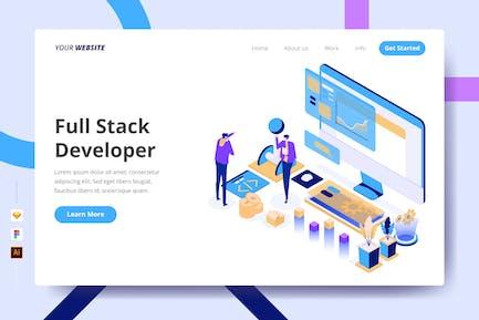 Full Stack Developer - Landing Page