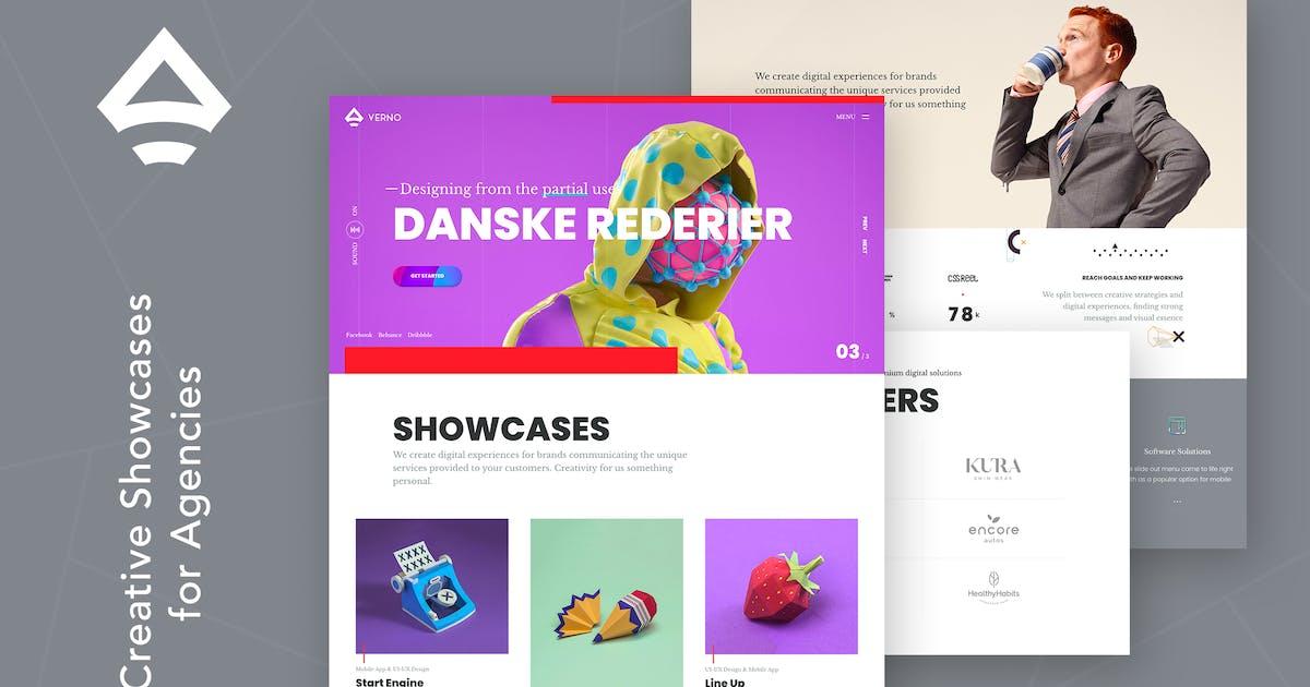 Download Verno | Creative Showcases for Agencies by themezinho
