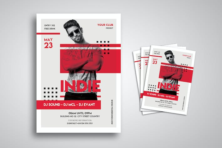 Thumbnail for DJ Music Flyer
