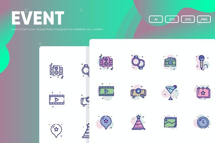 Ereignis-Symbol Pack