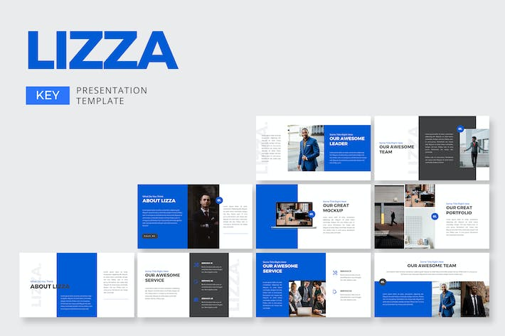 Thumbnail for Lizza Corporate - Keynote