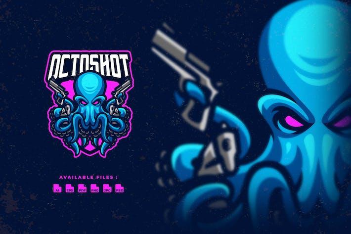 Thumbnail for Octopus Shooter Esport Logo