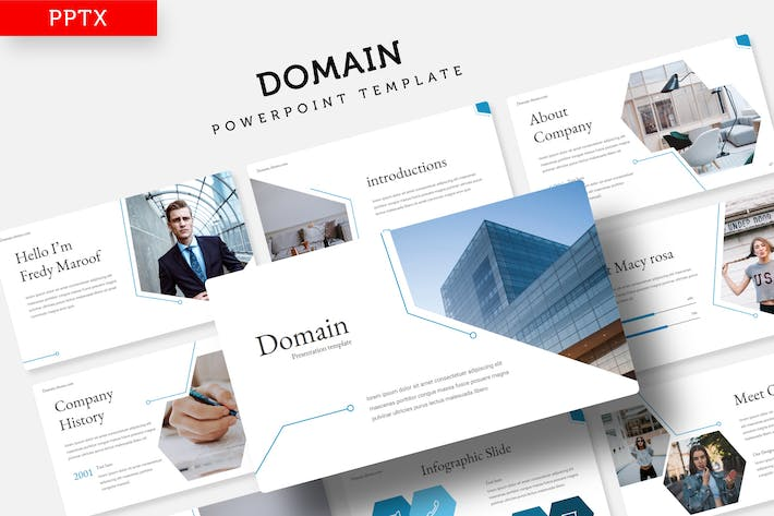 Thumbnail for Domain - Power Point Template