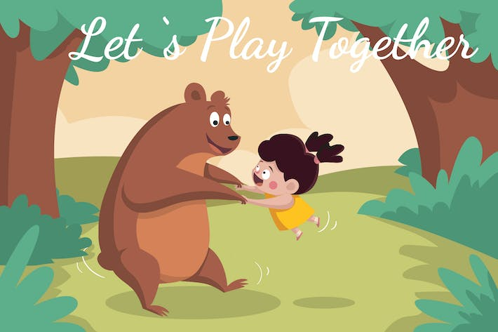 Thumbnail for Let's Play Together  - Illustration