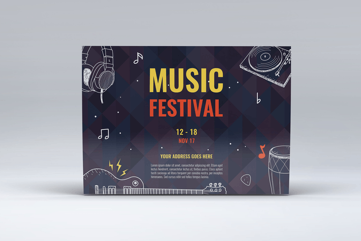 Line Art Music Festival Mini Session
