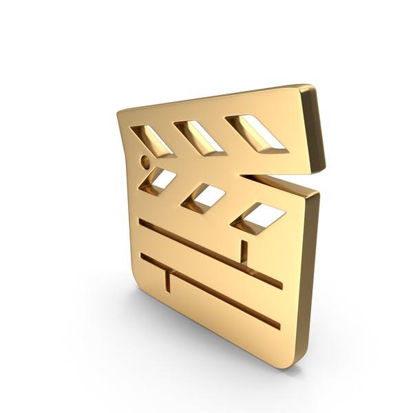 Clapper Board Logo Icon