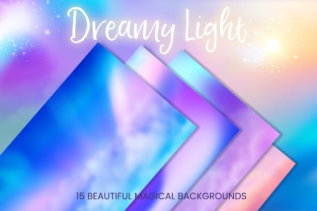 Dreamy Light Background Textures