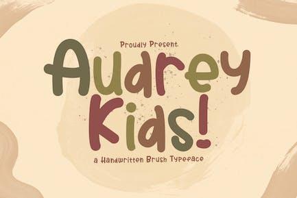 Audrey Kids - Fuente de visualización lúdica